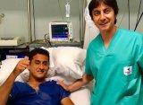 Альмагро успешно перенес операцию на мениске левого колена
