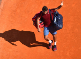 Федерер снялся с турнира в Мадриде