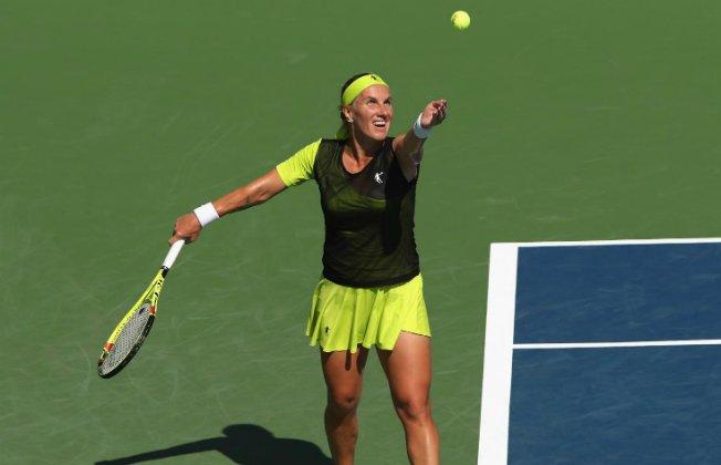 Кузнецова обыграла американку Анивышла во 2-ой круг турнира вВашингтоне