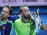 Жебавы и Мидделькоп стали чемпионами парных соревнований St. Petersburg Open