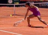 Рим (WTA). Касаткина подвернула ногу и снялась с матча со Стрицовой