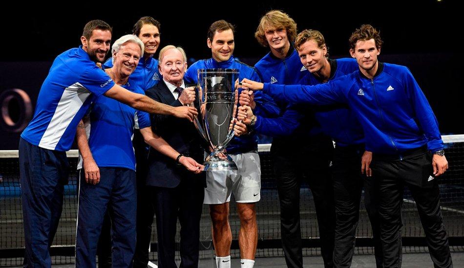 """Дебют на """"отлично"""". Федерер и Надаль привели Европу к победе в Кубке Лэйвера"""