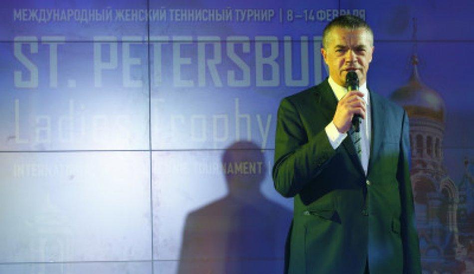 Вечеринка игроков турнира St. Petersburg Ladies Trophy состоялась в отеле Four Seasons