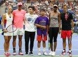 """В рамках US Open прошел традиционный """"Детский день"""""""