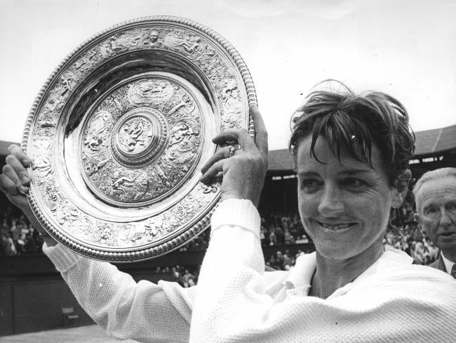 Маргарет Корт — выдающаяся австралийская теннисистка, победительница 62 турниров Большого шлема в 1960—1975 годах.