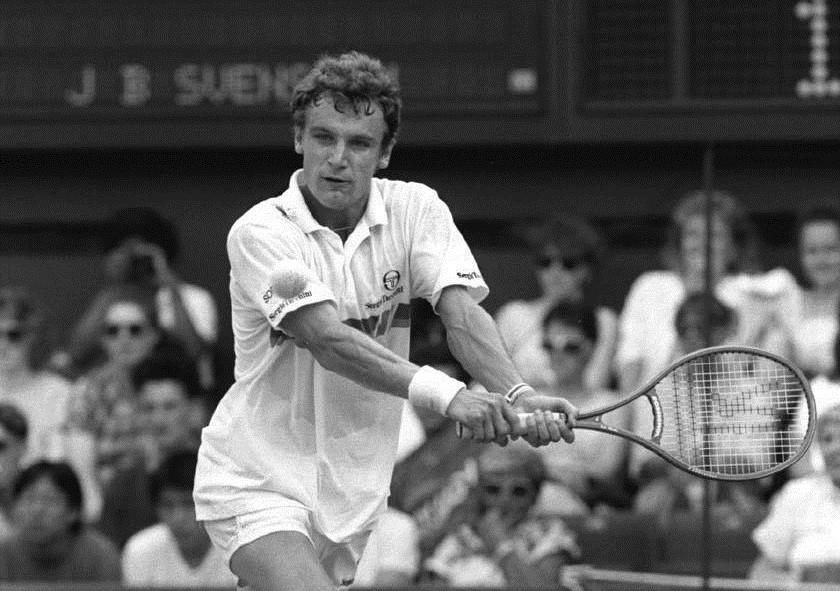 Матс Виландер — знаменитый шведский профессиональный теннисист, бывшая первая ракетка мира.