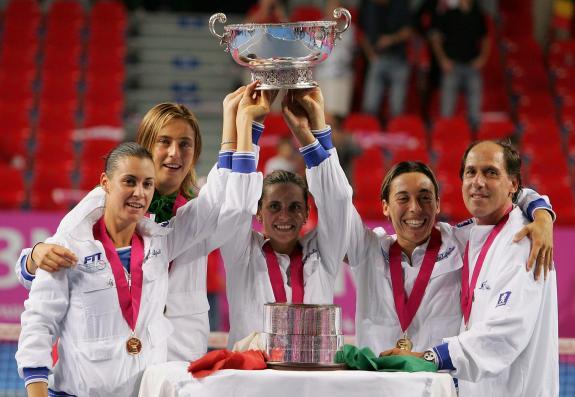 Флавия в составе Итальянской сборной выигрывала Кубок Федерации в 2006.