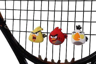 Angry Birds в виде виброгасителей на теннисных ракетках весьма популярны.