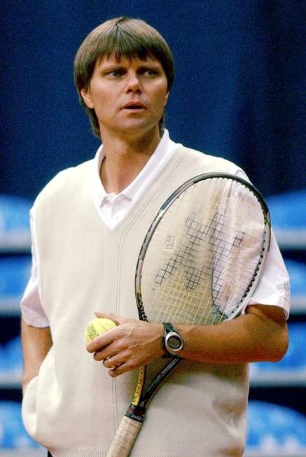 Питер Картер, тренер сборной Швейцарии в Кубке Дэвиса, 2001 / Фото: Keystone