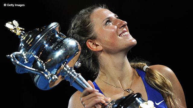 Виктория Азаренко выигрывала Austrlian Open в 2012 и 2013 годах. Свой первый титул в Австралии в 2012 году белорусская теннисистка получила, выиграв в финале у россиянки Марии Шараповой 6-3, 6-0.
