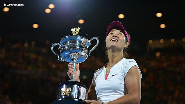 Ли На дважды становилась финалисткой в Мельбурне, а в 2014 году оказалась в финале сильнее  Доминики Цибулковой 7-6(7-3), 6-0.