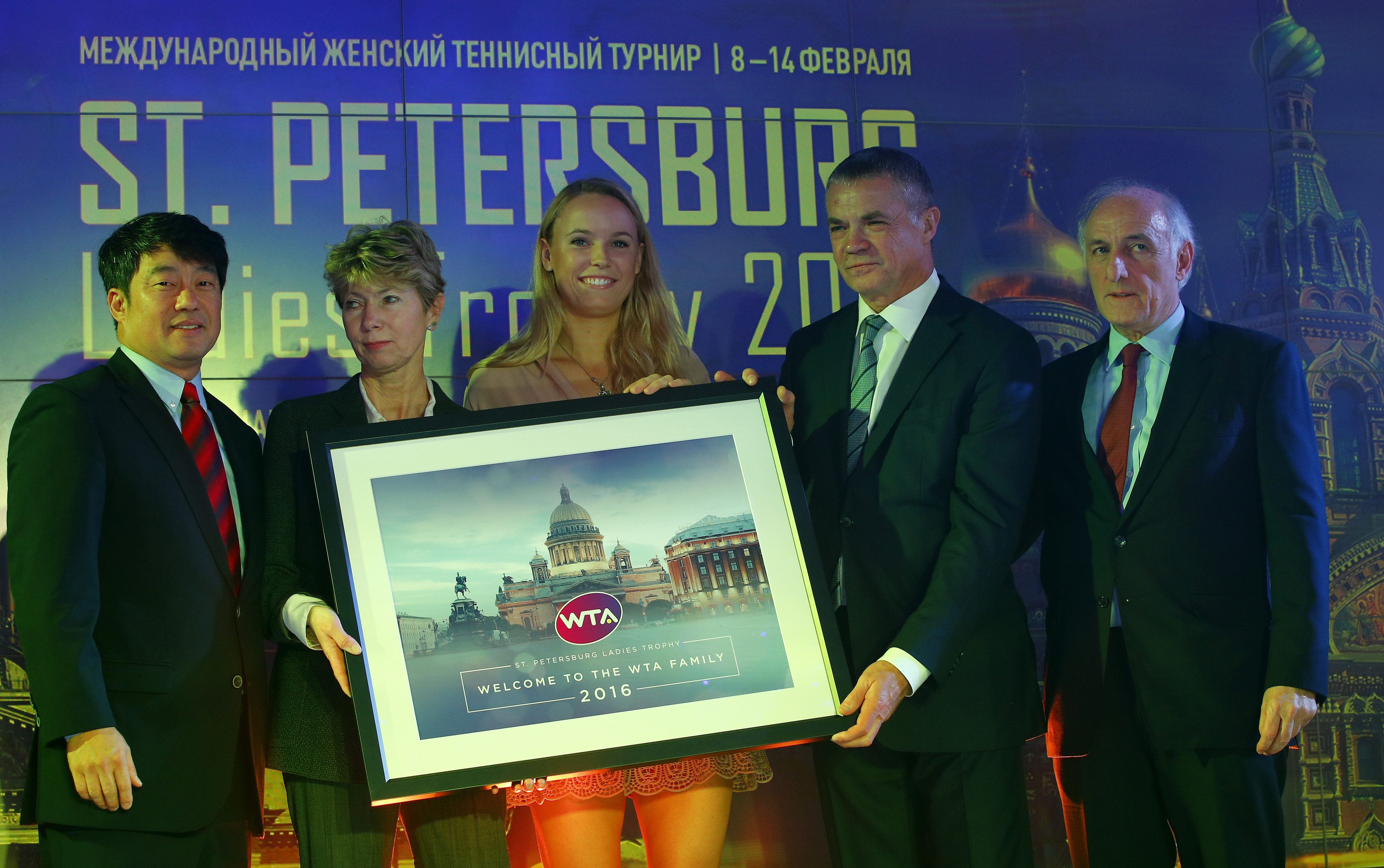 Наталия Камельзон, Каролин Возняцки, Александр Медведев