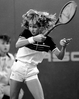 13-летняя Штеффи Граф, 1982 год / AP Images