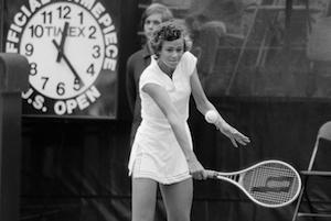 16-летняя Пэм Шривер во время US Open 1978 / AP Photo/Dave Pickoff