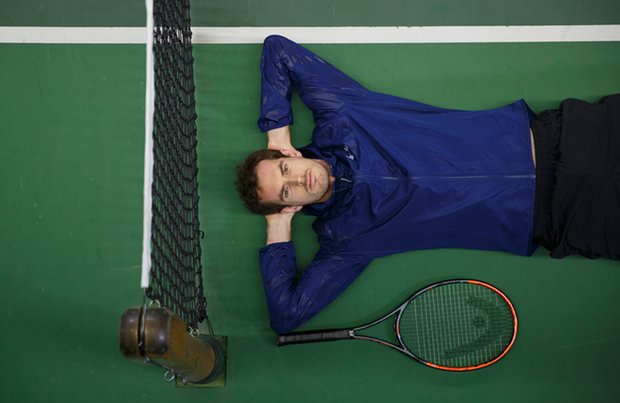 Маррей в составе команды Великобритании готовится к противостоянию с Японией, защищая титул чемпионов Кубка Дэвиса. Фото: Tom Jenkins для газеты the Guardian