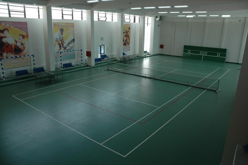 Теннисный корт Сочи санаторий Русь