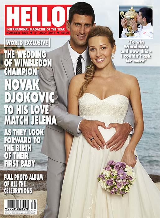 Джокович женат на Елене Ристич. У них есть сын. Сейчас они ожидают второго ребёнка