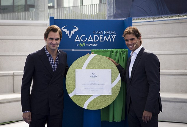 Испанец открыл свою теннисную Академию на Мальорке, позвав на презентацию Роджера Федерера