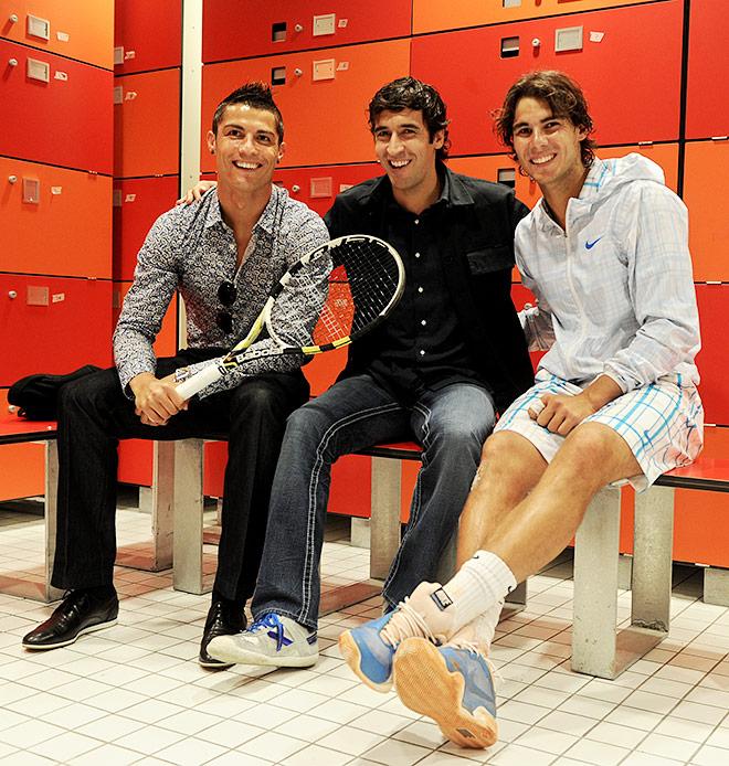 Теннисист не просто болеет за «Реал», но и дружит с футболистами этой мадридской команды