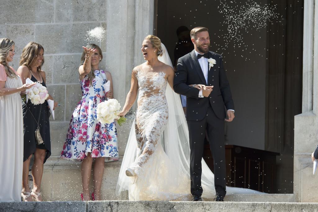 В июле 2016 года состоялась свадьба Доминики Цибулковой с ее давним возлюбленным Михалом Наварой.