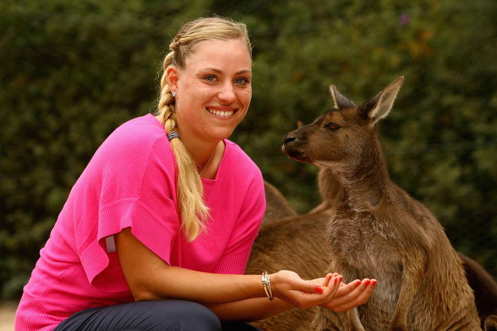 Анжелик Кербер в Австралии в 2012 году