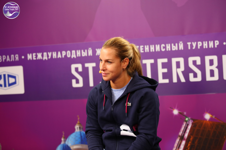 Доминика Цибулкова в Санкт-Петербурге
