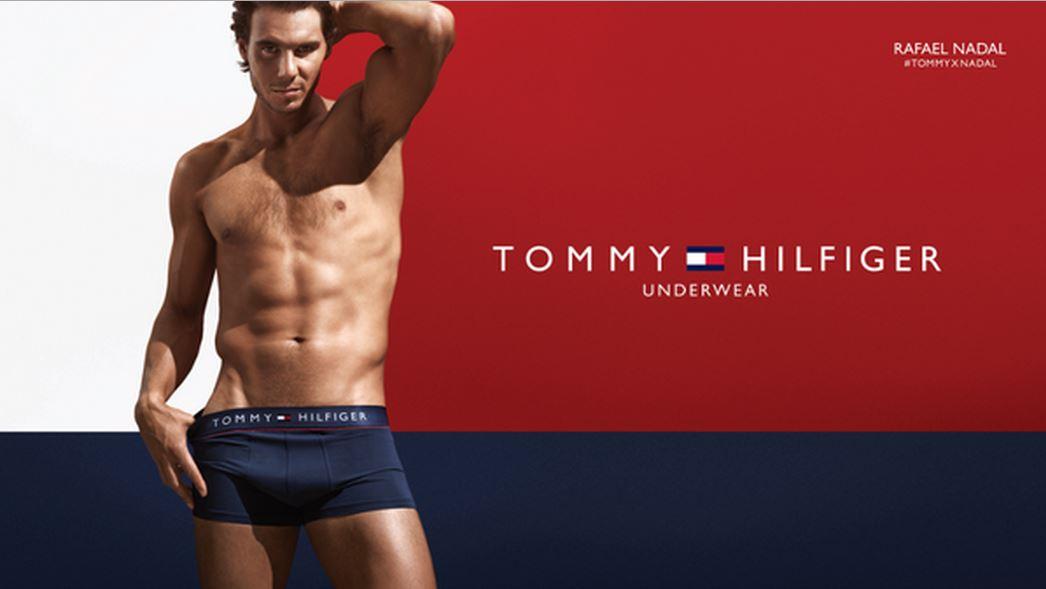Надаль является лицом бренда Tommy Hilfiger
