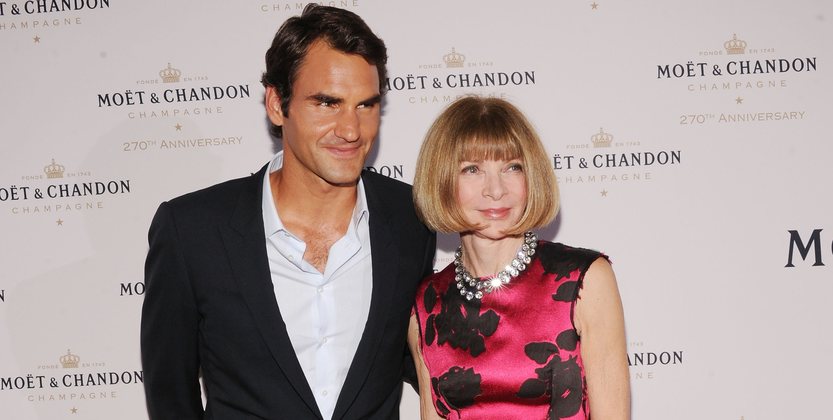 Швейцарец дружит с Анной Винтур, главным редактором американского Vogue