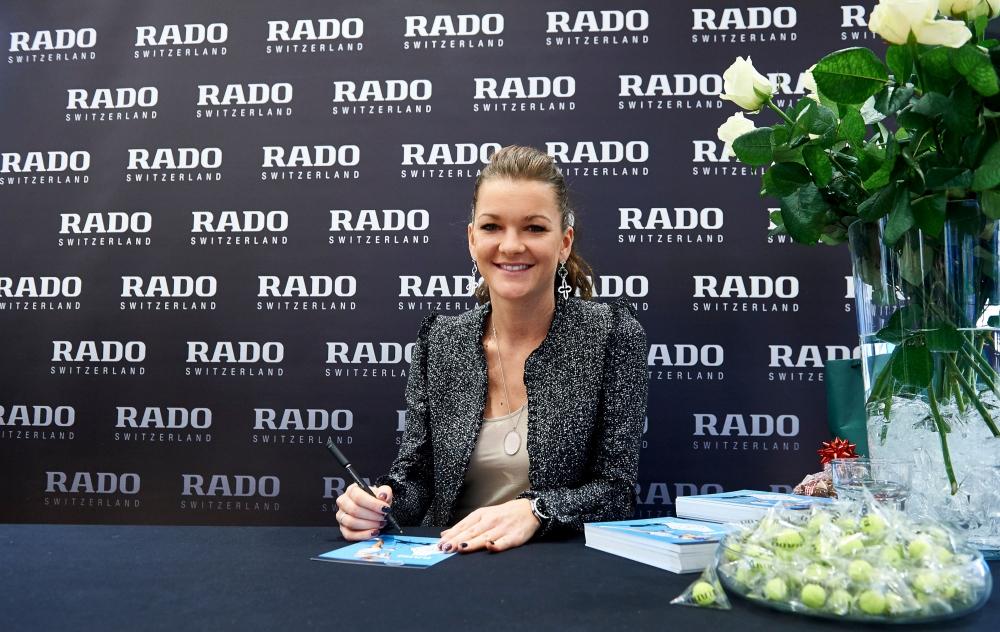 Агнешка Радваньска в рекламной кампании производителя часов Rado