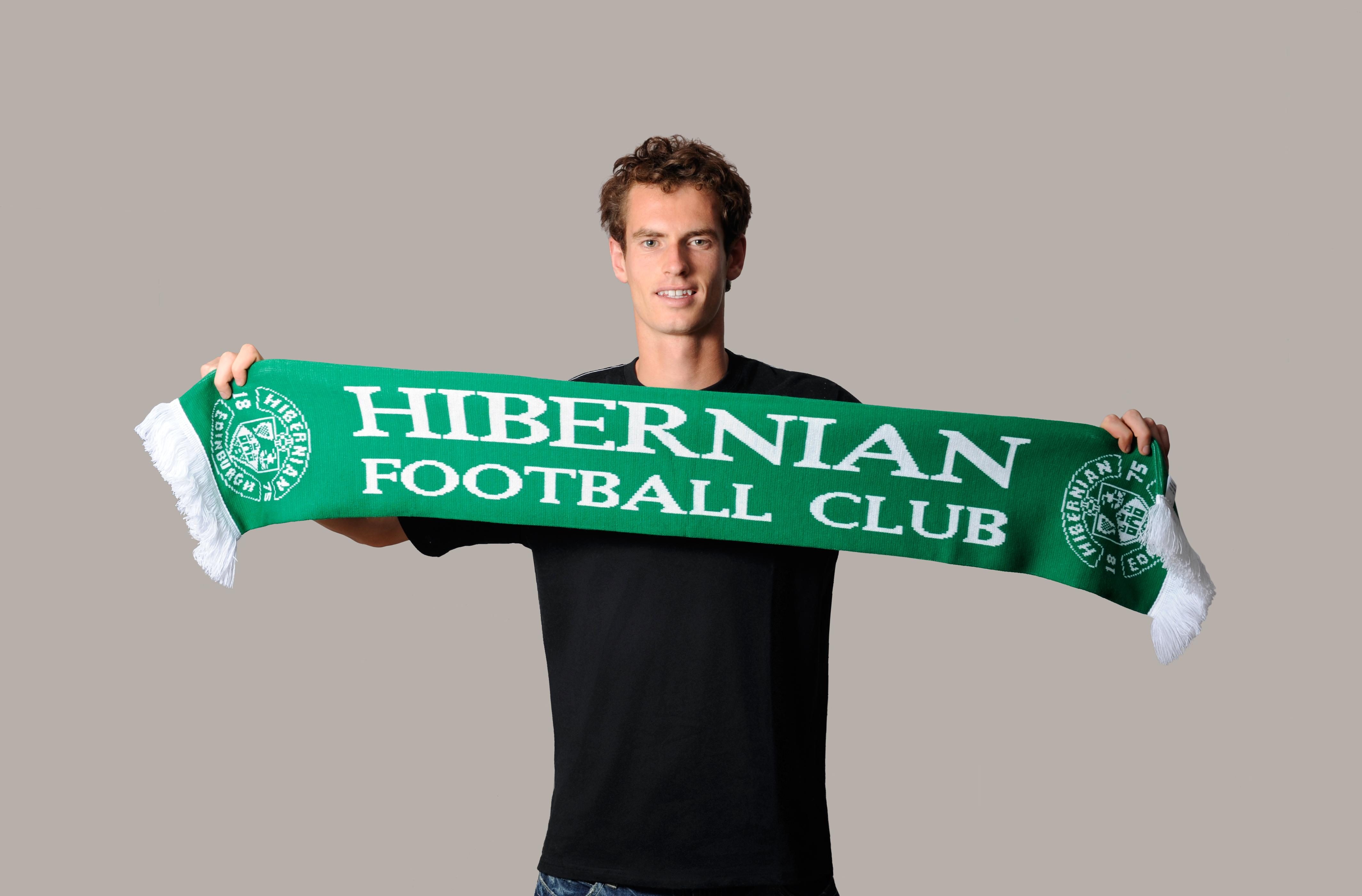 Энди Маррей болеет за шотландский футбольный клуб