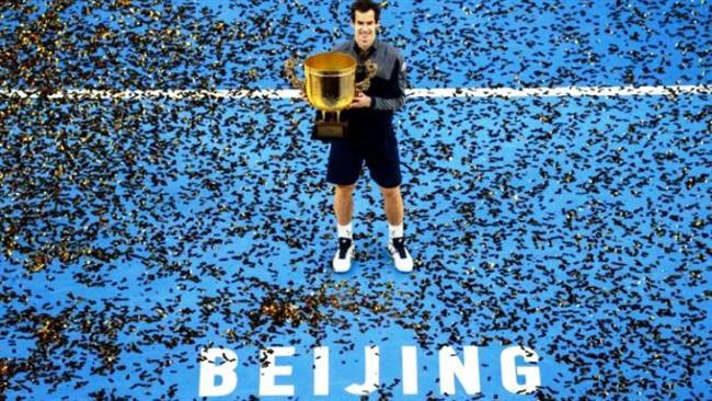 Энди Маррей в Пекине