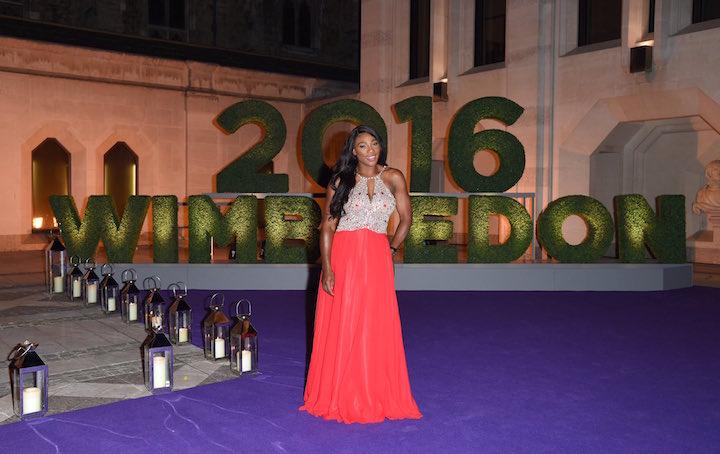Серена Уильямс в платье