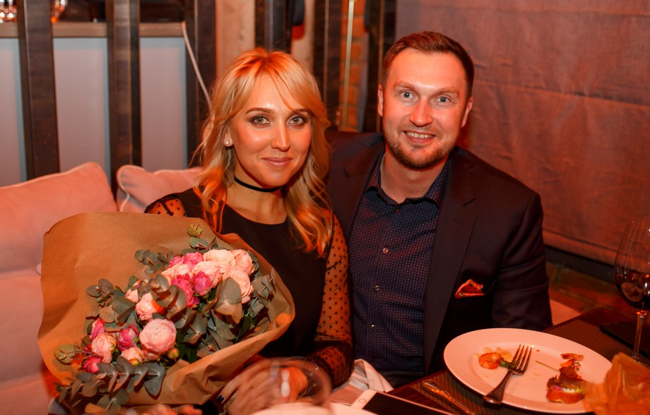 Елена Веснина с мужем Павлом