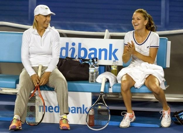 Мартина Навратилова и Агнешка Радваньска / фото: sportskeeda