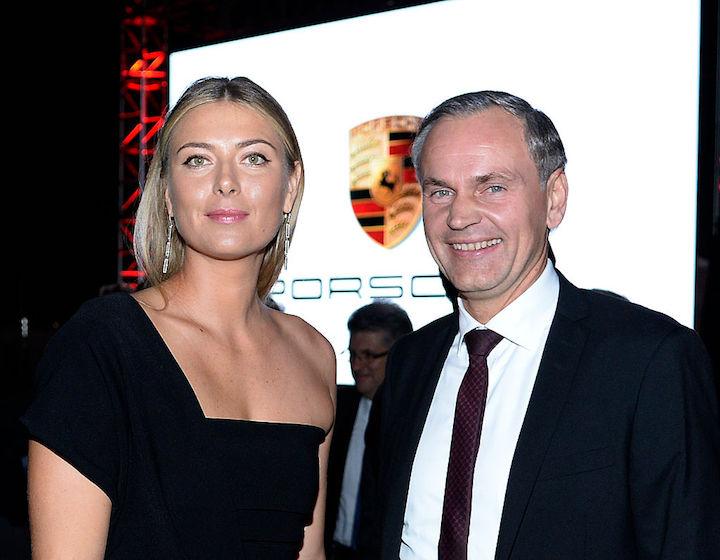 С CEO Porsche Оливером Блюмом