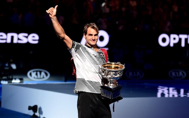 В 35 лет Роджер Федерер выиграл 18-й