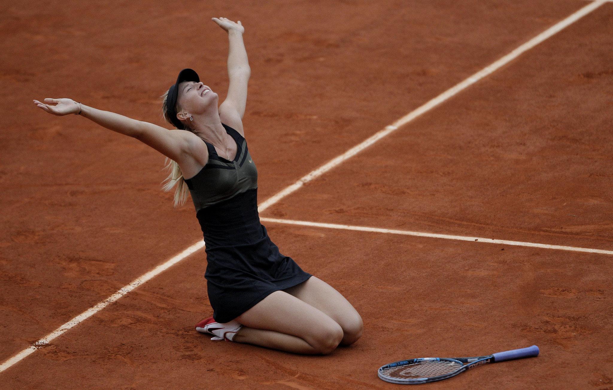Мария выигрывала все четыре турнира