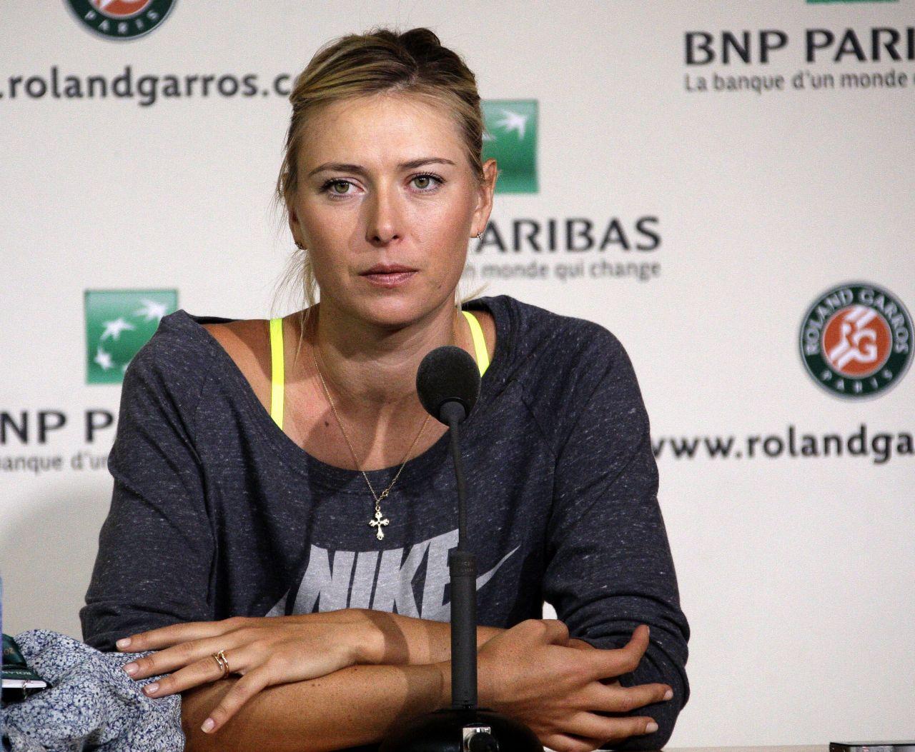 Мария Шарапова является лицом многих брендов, включая Nike