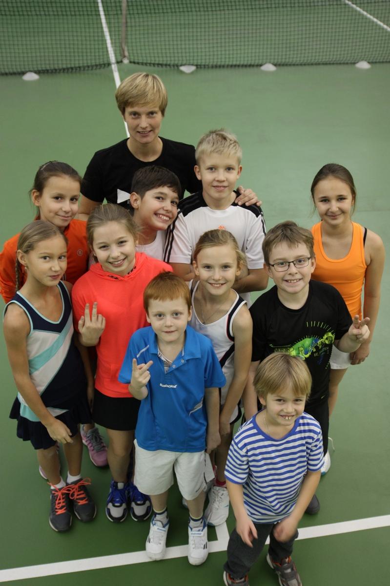 Дарья Чуракова с учениками