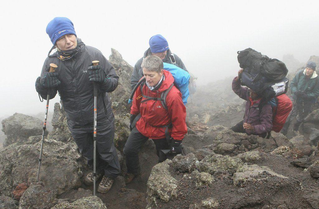 Мартина Навратилова покоряет Килиманджаро