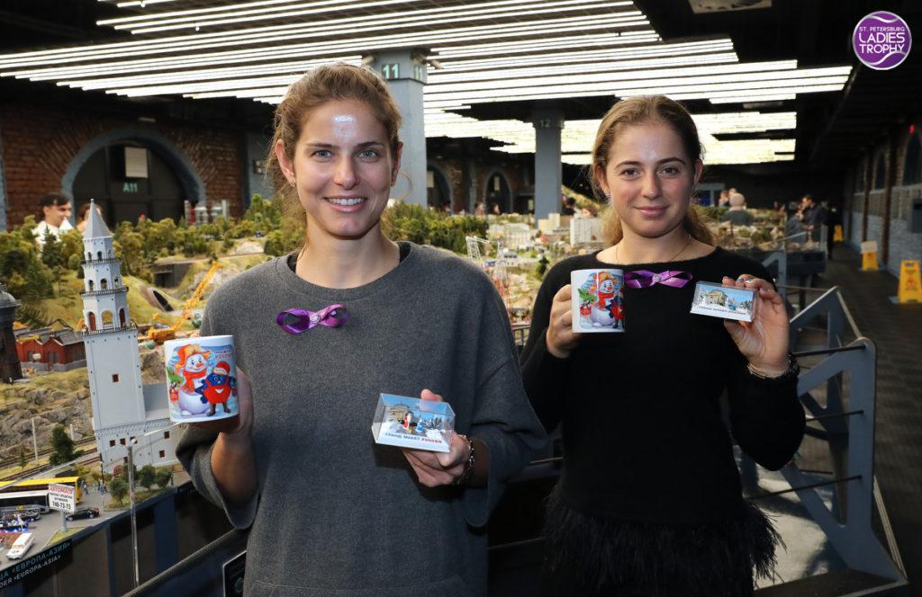 Юлия Гергес и Елена Остапенко
