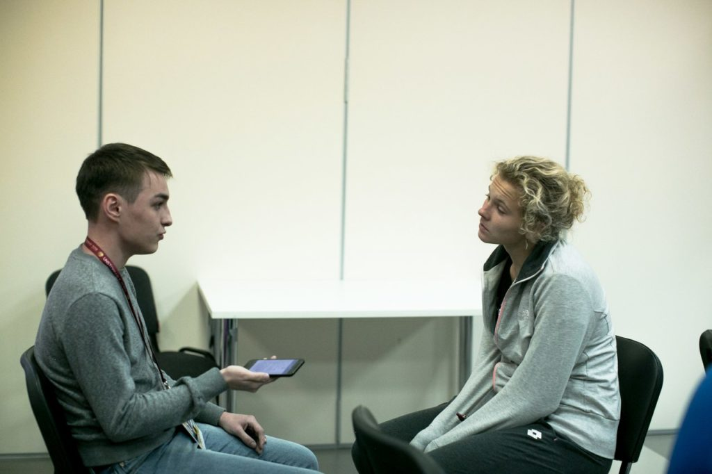 Мухтар Марданов и Катержина Синякова